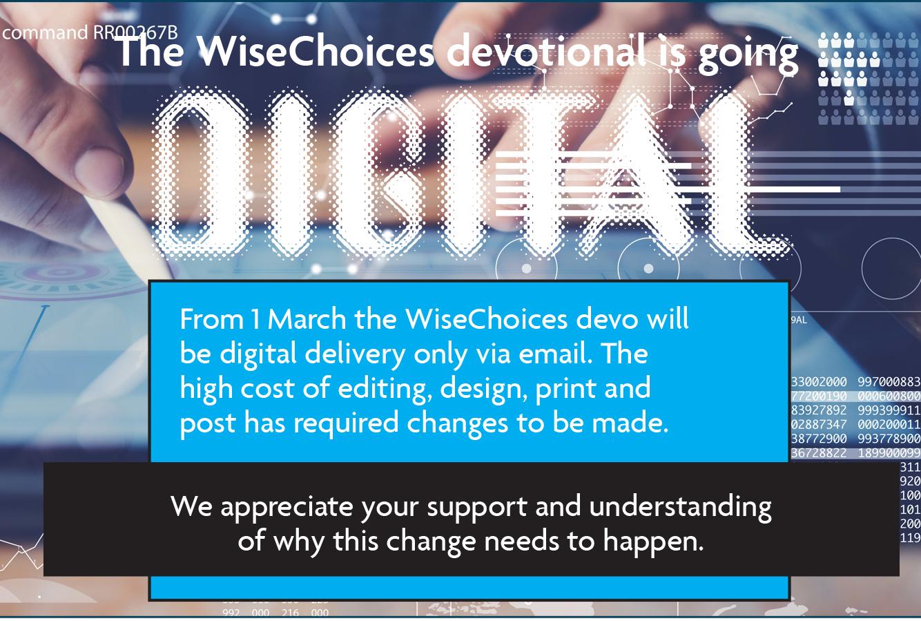 WiseChoices Digital Devo