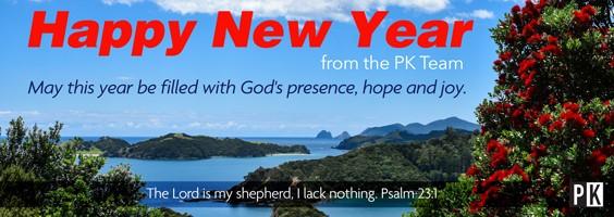 Happy New Year from PK