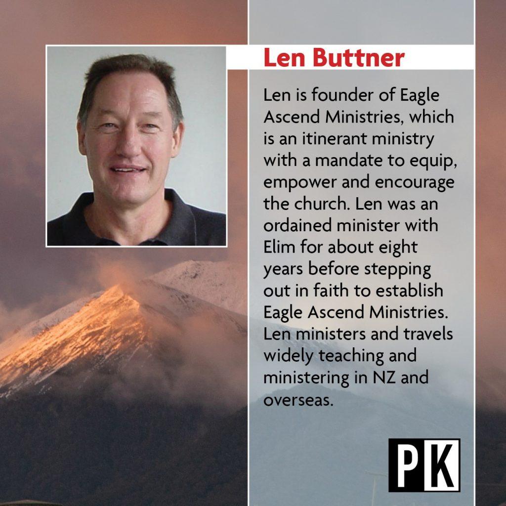 Keynote Speaker Len Buttner