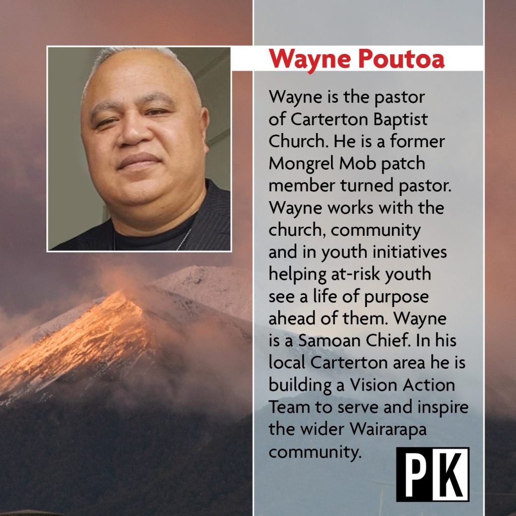 Keynote Speaker Wayne Poutoa