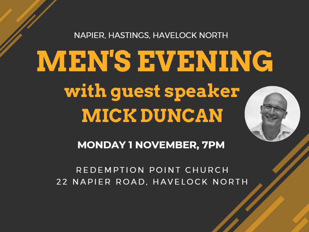 Men's Event with Mick Duncan